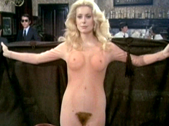 Catherine Deneuve is a naked legend...