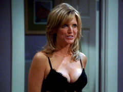 Courtney Thorne-Smith shows her butt on primetime television