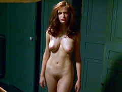 Eva Green exposes her sexy butt, bush and rack in the bathroom