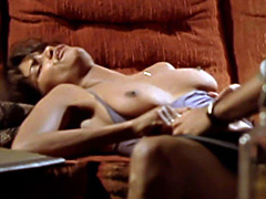 Halle Berry flaunts sexy T&A while getting nailed on a couch