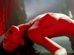Jessica Biel exposing tits and..