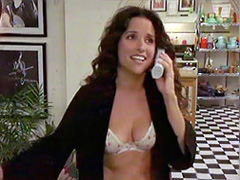 Julia Louis-Dreyfus sheds some skin on..