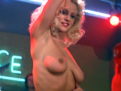 Julie Michaels strips down and bares..