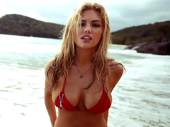 Kate Upton proves why she is the cover of this year's Swimsuit Issue