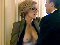 Kathleen Robertson of the original 90210 gets naked and fucked