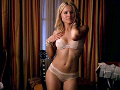 Kristen Bell looks unbelievable in her bra and panties