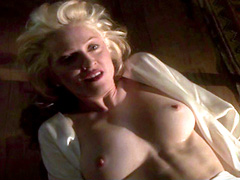 Madonna takes it all off and shows..