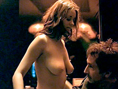 Marion Cotillard shows perfect tits..