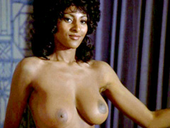 Pam Grier unleashes her giant jugs and..