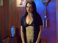 Rachel Weisz reveals her creamy round ass and sexy pale titties