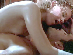 American actress Nicole Kidman in a sex scene