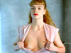 Nina Hoss eposes small tits and..
