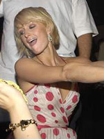 Supernova Paris Hilton dances just..