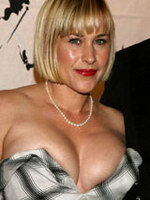 Patricia Arquette showing her perfect..