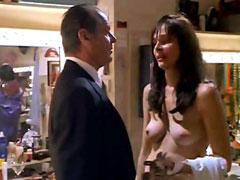 Fully naked celebrity Priscilla Barnes..