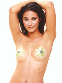 Emmanuelle Chriqui wearing see-through..