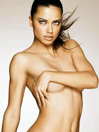 Adriana Lima amazing topless photoshot