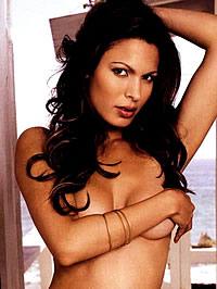 Super hot Nadine Velazquez topless..