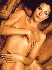 Various topless pictures of Monica Bellucci