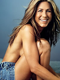 Jennifer Aniston bikini and topless..