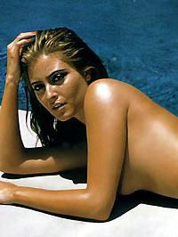 Holly Portiere bikini and go-go photoshot