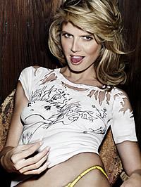 Heidi Klum glamour photoshot