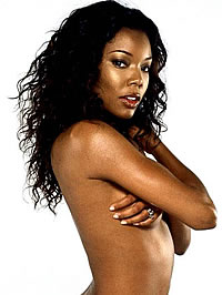Gabrielle Union amazing topless photoshot