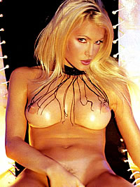 Caprice Bourret topless and hot..