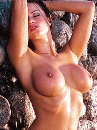 Candice Michelle big boobs and shaved..