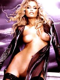 Adriana Sklenarikova posing absolutely..