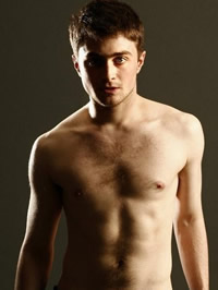 Daniel Radcliffe amazing topless..
