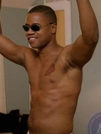 Cuba Gooding Jr nude movie caps