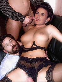 Demi Moore loves to feel a hard cock..