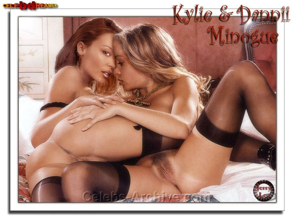 Excited Dannii minogue porn pics for