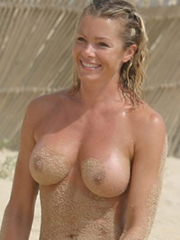 Nell McAndrew paparazzi ass shots and..