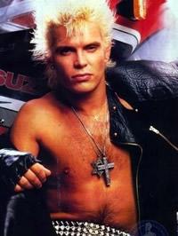 Billy Idol paparazzi nude shots
