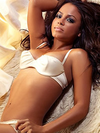 Christina Milian bikini and lingerie..