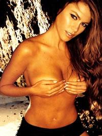 Sofia Vergara exposing her nice big..