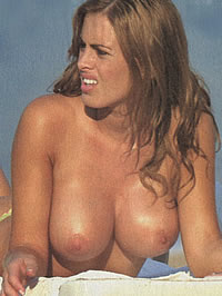 Silvina Luna exposed her big boobs and..