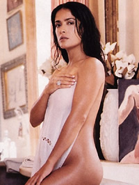 Salma Hayek glamour photos and nude..