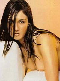 Paz Vega posing topless