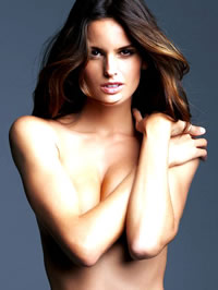 Izabel Goulart fabulous cold and..