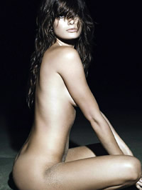 Isabeli Fontana nude and lingerie shots