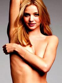 Miranda Kerr topless and lingerie shots