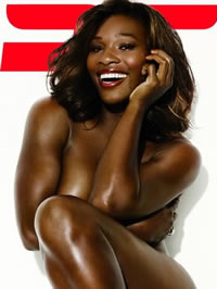Serena Williams flashing their way big..