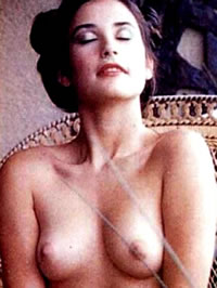 Demi Moore nude pics and movie nude caps