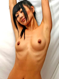 Bai Ling shows her amazing small tits