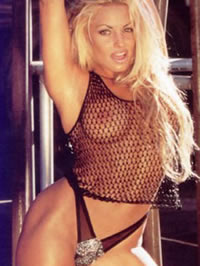 Trish Stratus showing her fabulous..