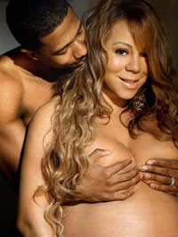 Mariah Carey′s Naked Maternity..