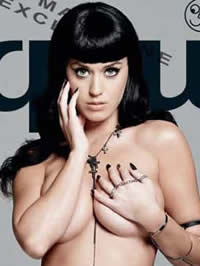 Katy Perry Nude topless and upskirt..